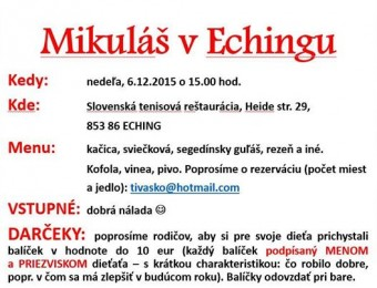 mikulas eching