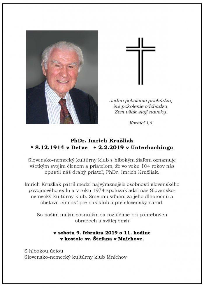 Anzeige Kruzliak SNKK SK