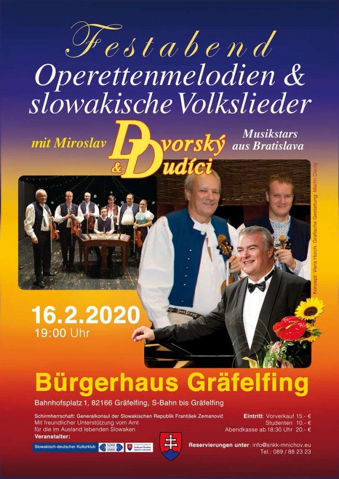 Dudici und Dvorsky - 16.2.2020